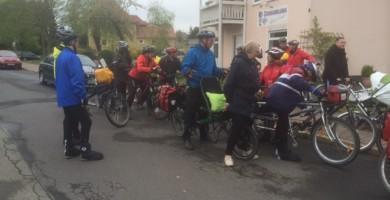 Vor dem Start zur Dolmarrundfahrt am 3. Mai