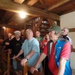 Besichtigung der Mühle in Schlepzig
