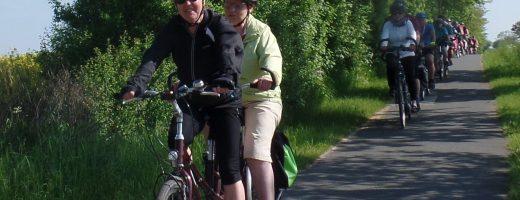 Mit dem Tandem unterwegs durch Mecklenburg