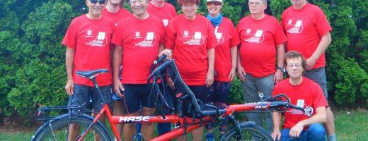 Teamfoto der deutschen Tourteilnehmer