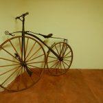 Ein historisches Fahrrad