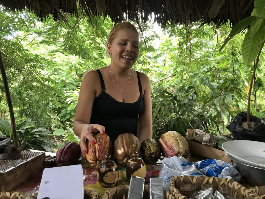 Kakaofarm in der Sierra Maestra