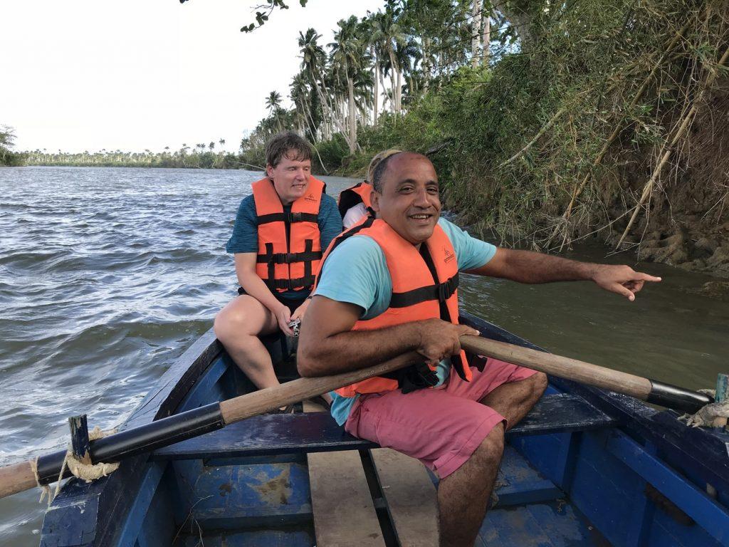 Bootsfahrt auf dem Rio Toa bei Baracoa